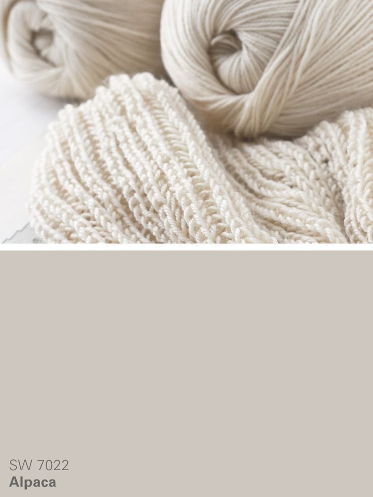 Sherwin-Williams neutral paint color \u2013 Alpaca (SW 7022) For the