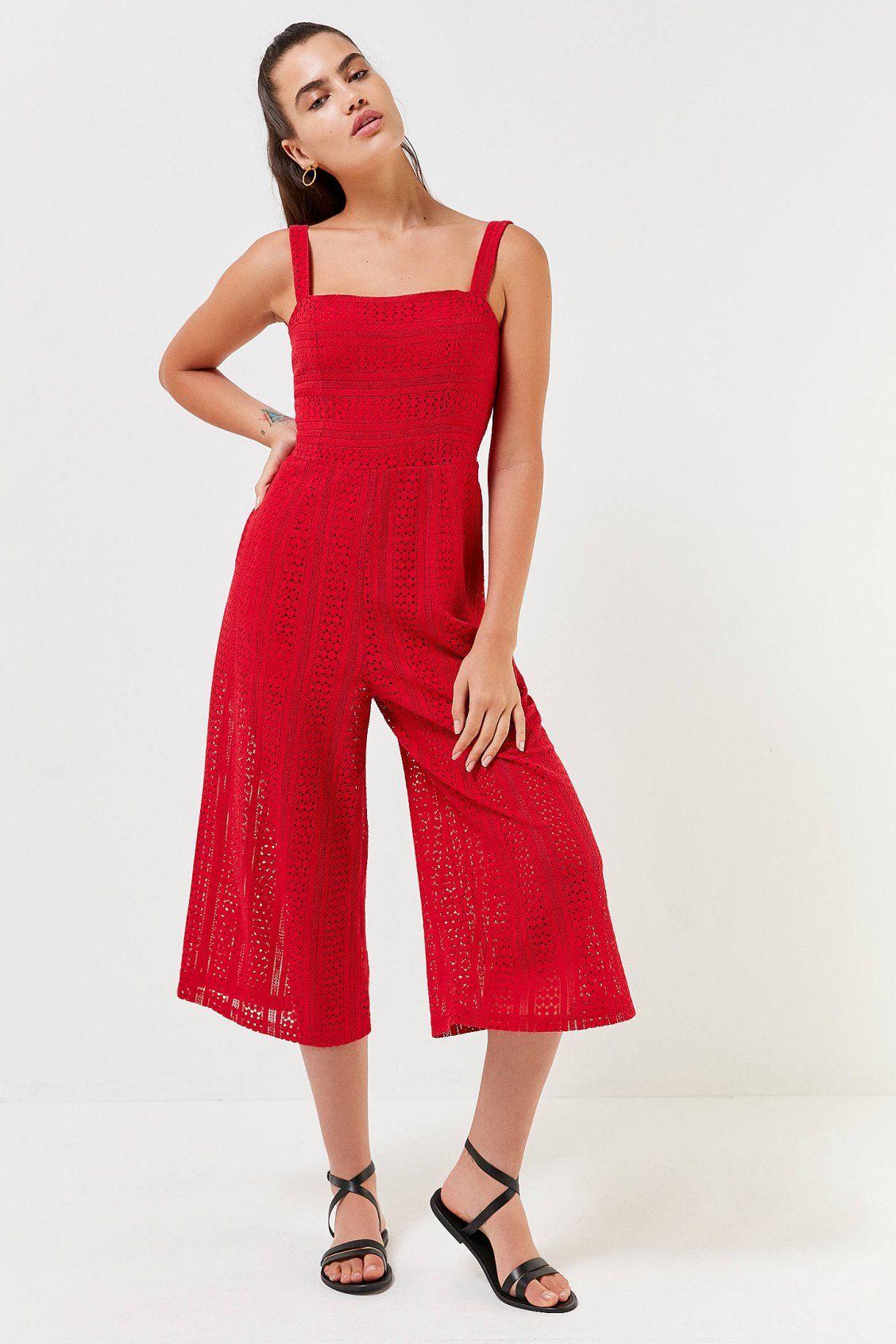 b9abb50c466 MINKPINK Starlight Lace Jumpsuit