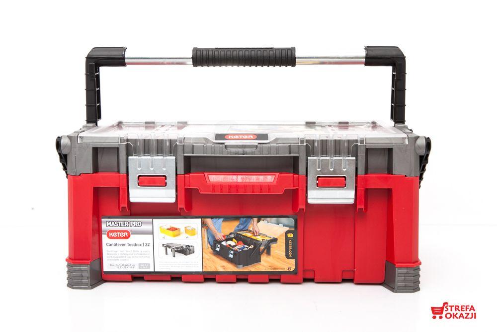 Kketer Skrzynka Narzedziowa Cantilever Tool Box 22 Cantilever Tool Box Tool Box Tools