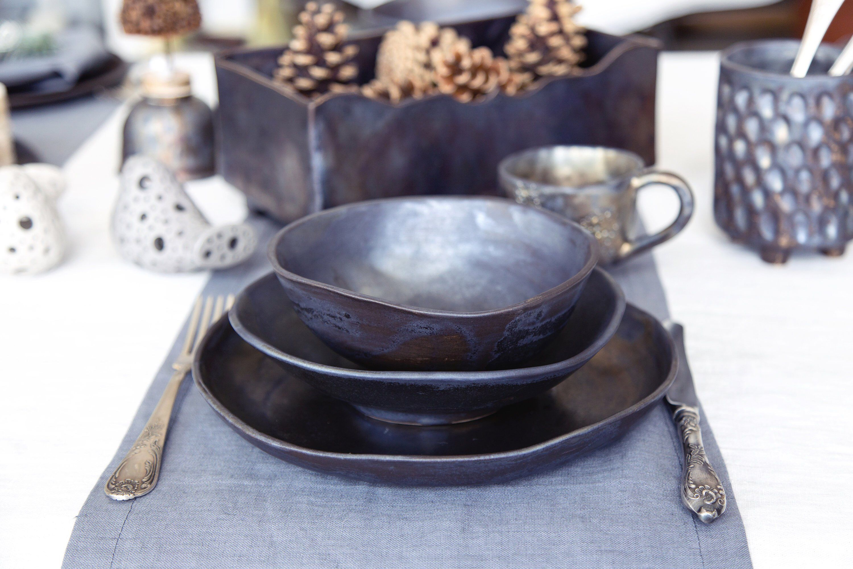 Modern Rustic Ceramic Dishes Ceramic Dinnerware Set Ceramic Dishes Rustic Dinnerware