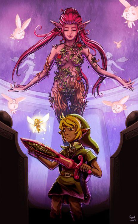 Great Fairy S Sword Legend Of Zelda Legend Fairy Fountain