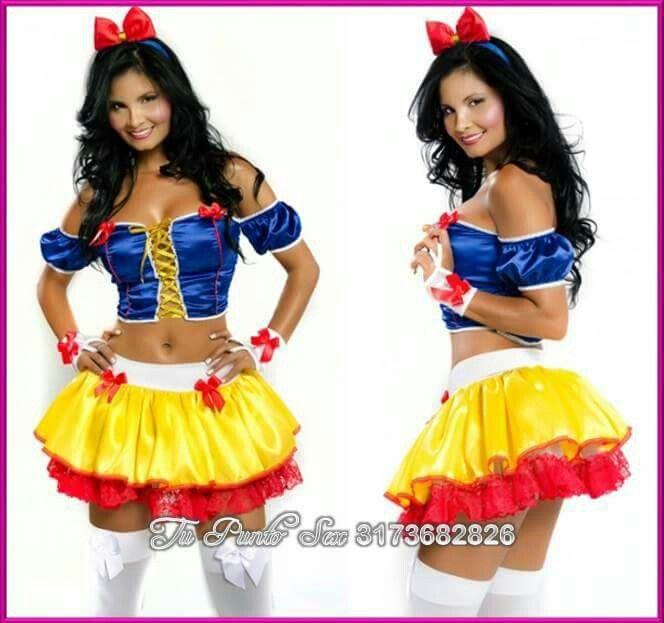 Disfraz de Blancanieves sensual Pregúntanos al whatsapp 3173682826 - imagenes de disfraces de halloween
