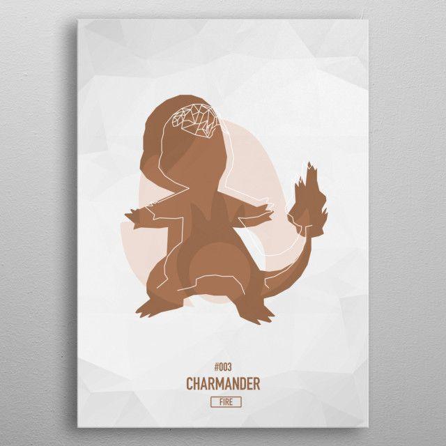"004 Charmander - Pokemon Low Poly Art Displate #Poster explore Pinterest""> #Poster | Displate thumbnail"