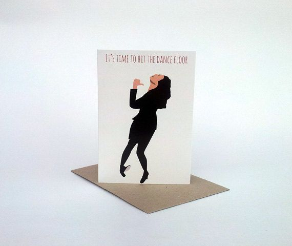 Seinfeld Birthday Card Elaine Dance