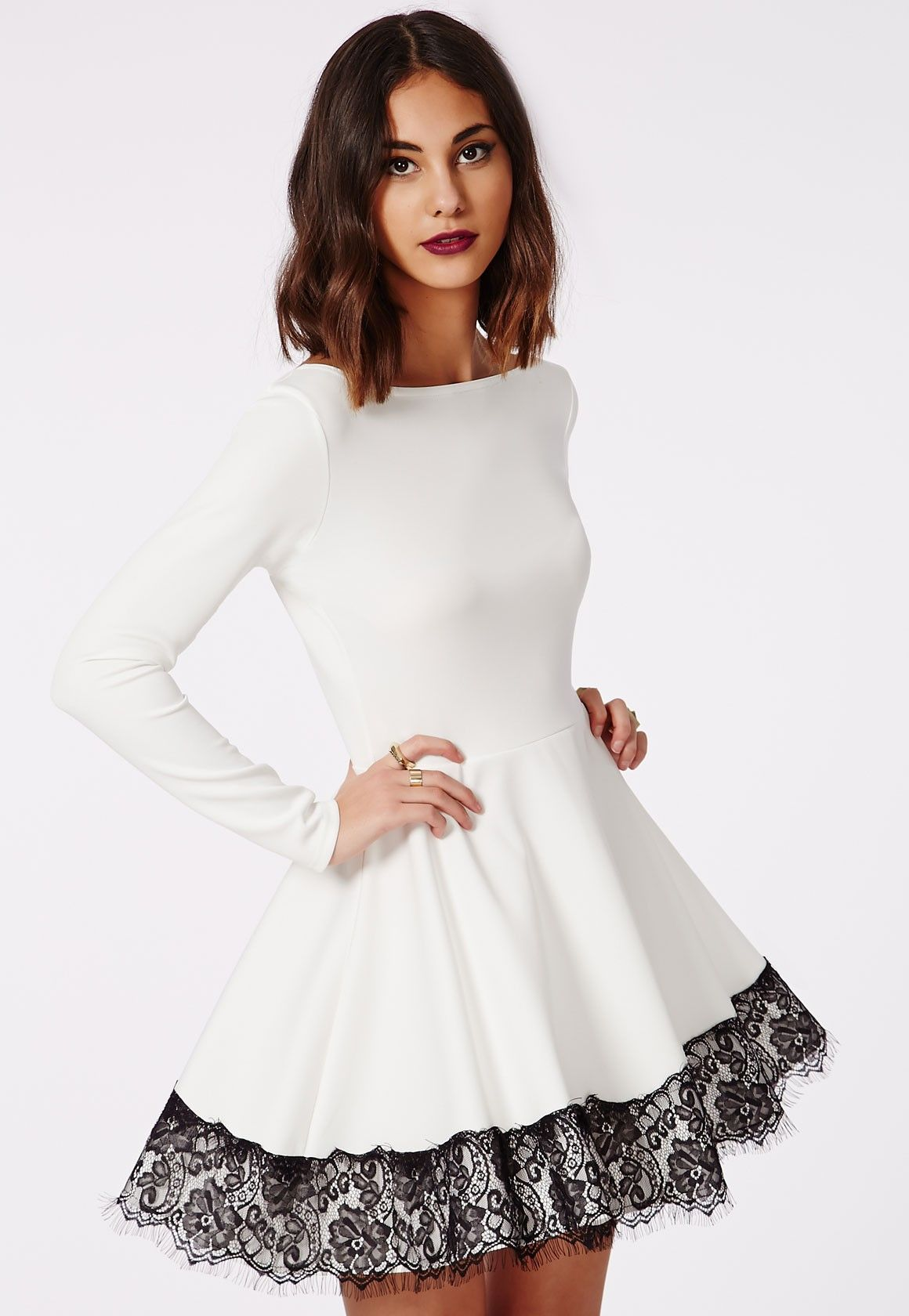 Plombier Hem 11 76 Dress In Black And White Fashion For Women