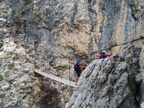 Pittentaler Klettersteig : Ferrata pisciadù klettersteig dolomiten dolomiti dolomites