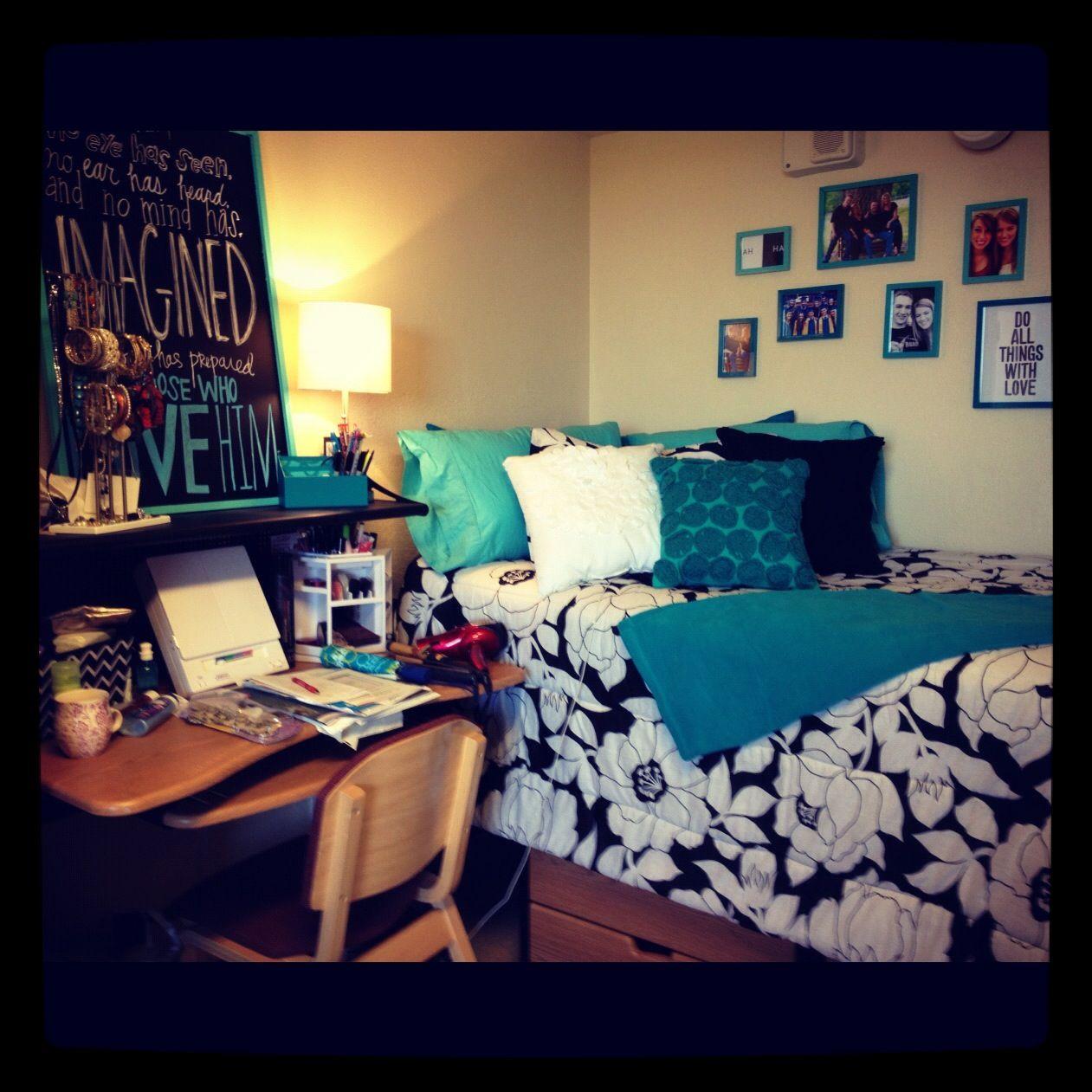 Colorful Dorm Room: Dorm Room, College Dorm Rooms, Dorm