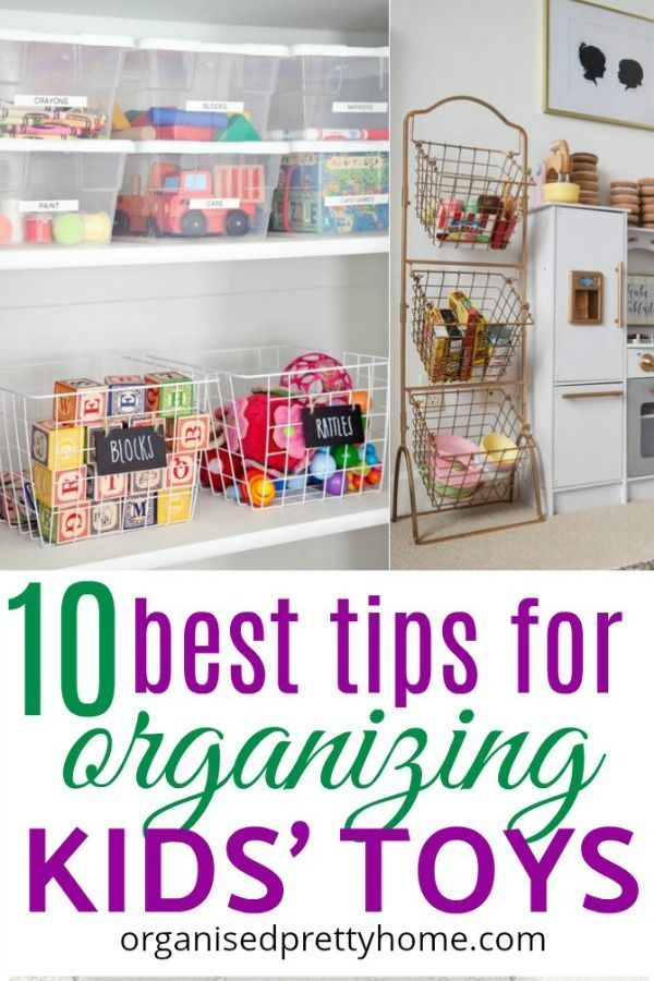 How to Organize Kids Toys images