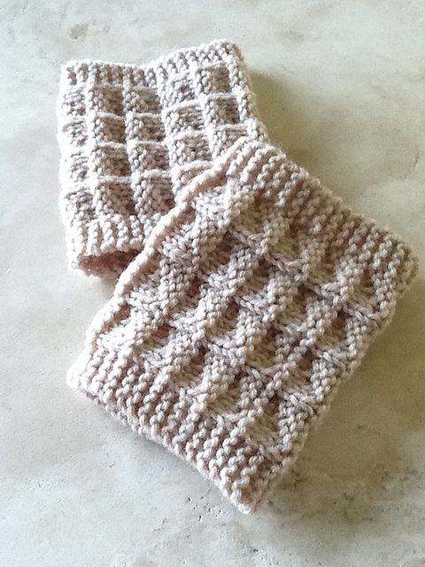 2 Needle Boot Toppers Cuffs For Those Who Hate Double Points