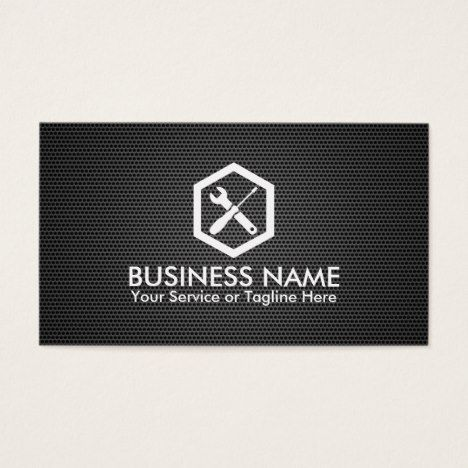 Auto repair professional black metal automotive business card cars auto repair professional black metal automotive business card reheart Gallery
