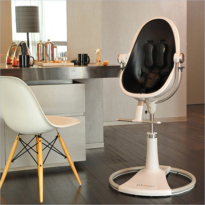 bloom white fresco loft plastic baby chair little. Black Bedroom Furniture Sets. Home Design Ideas