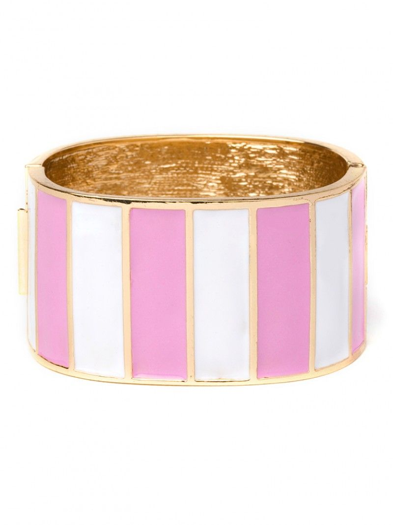 stripe pink cuff / baublebar