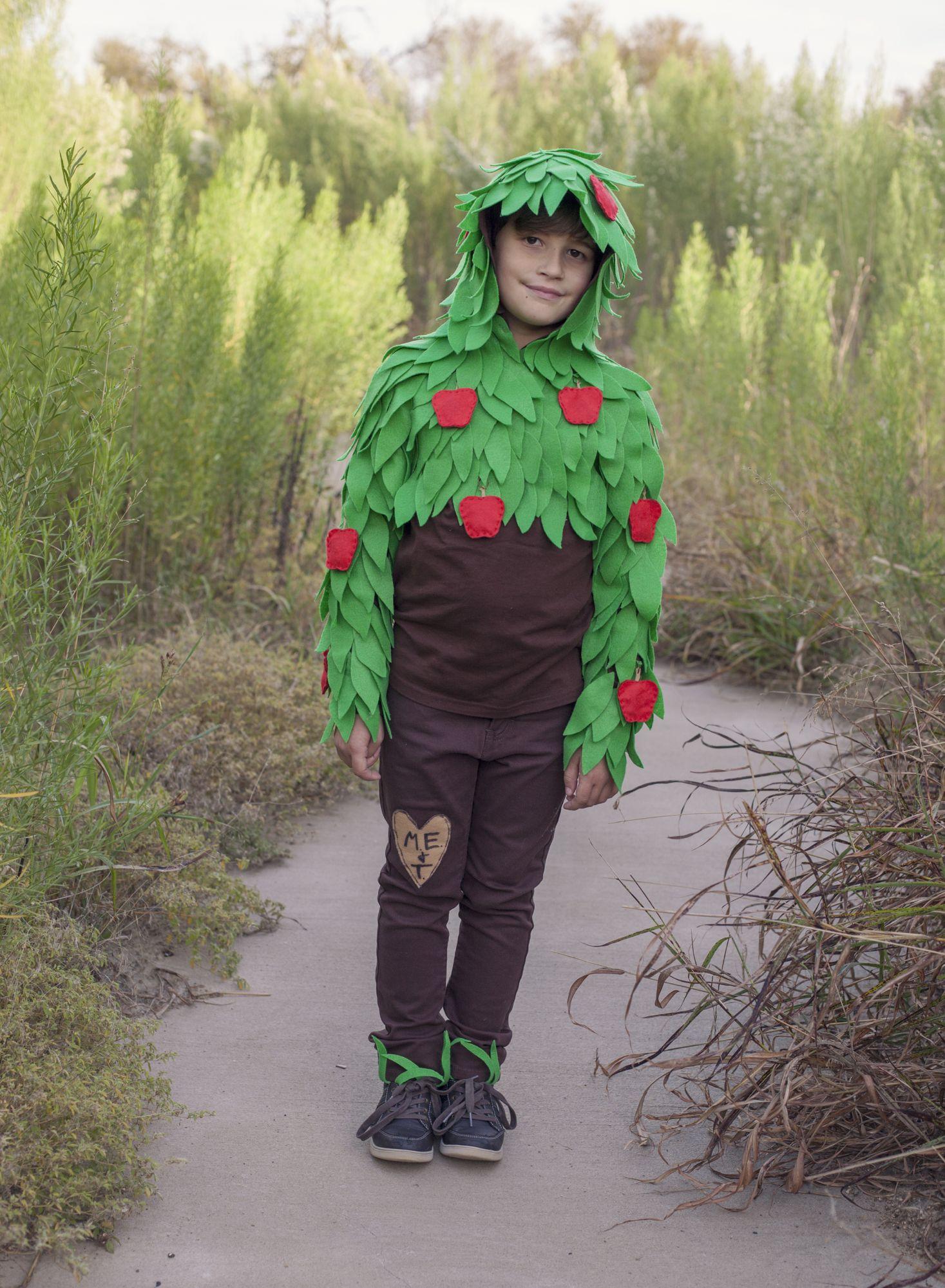 Giving Tree Costume Idea Felt Leaves With