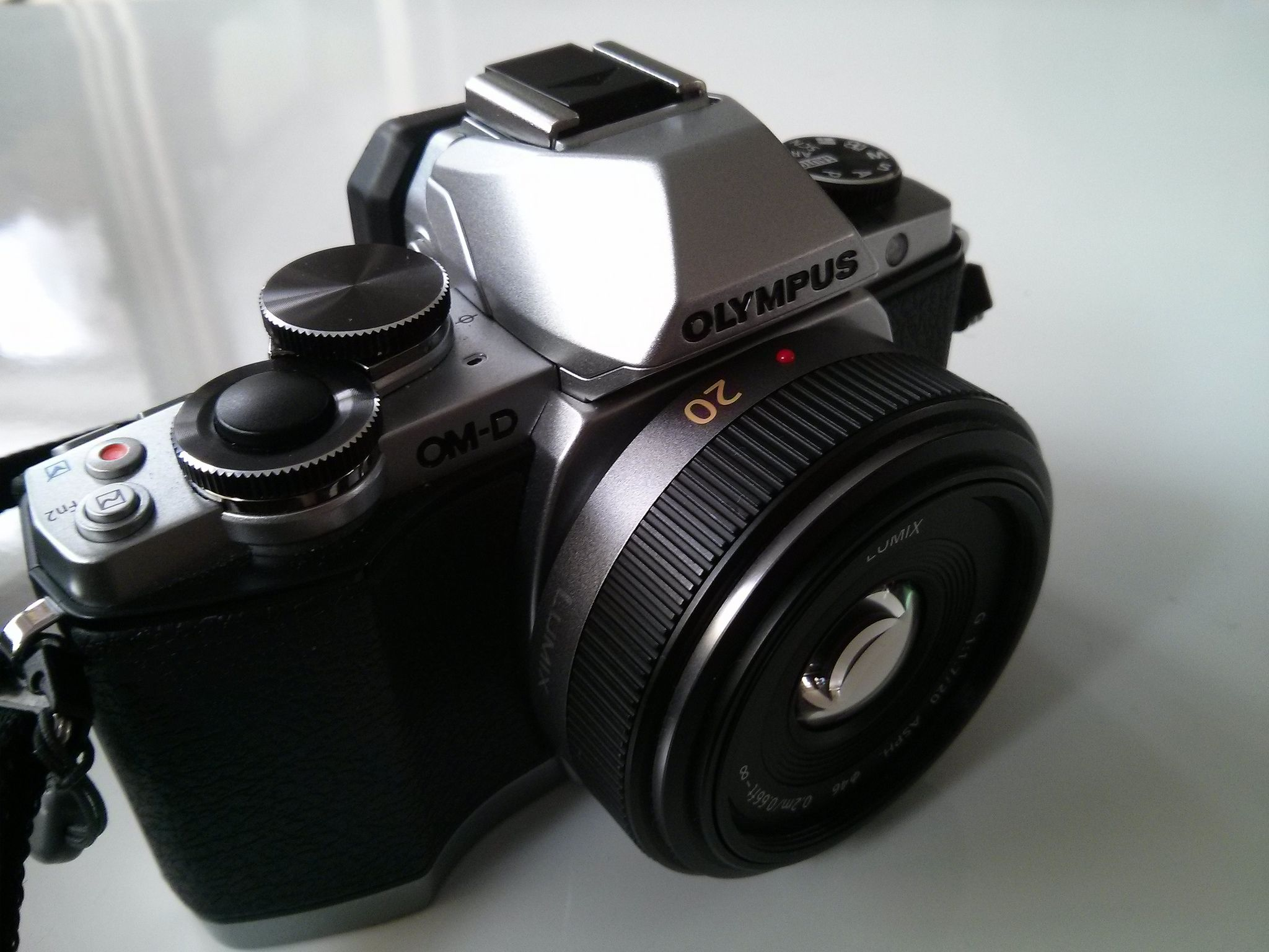 My Olympus Om D E M10 With Panasonic 20mm 1 7 Olympus Panasonic Lumix Panasonic