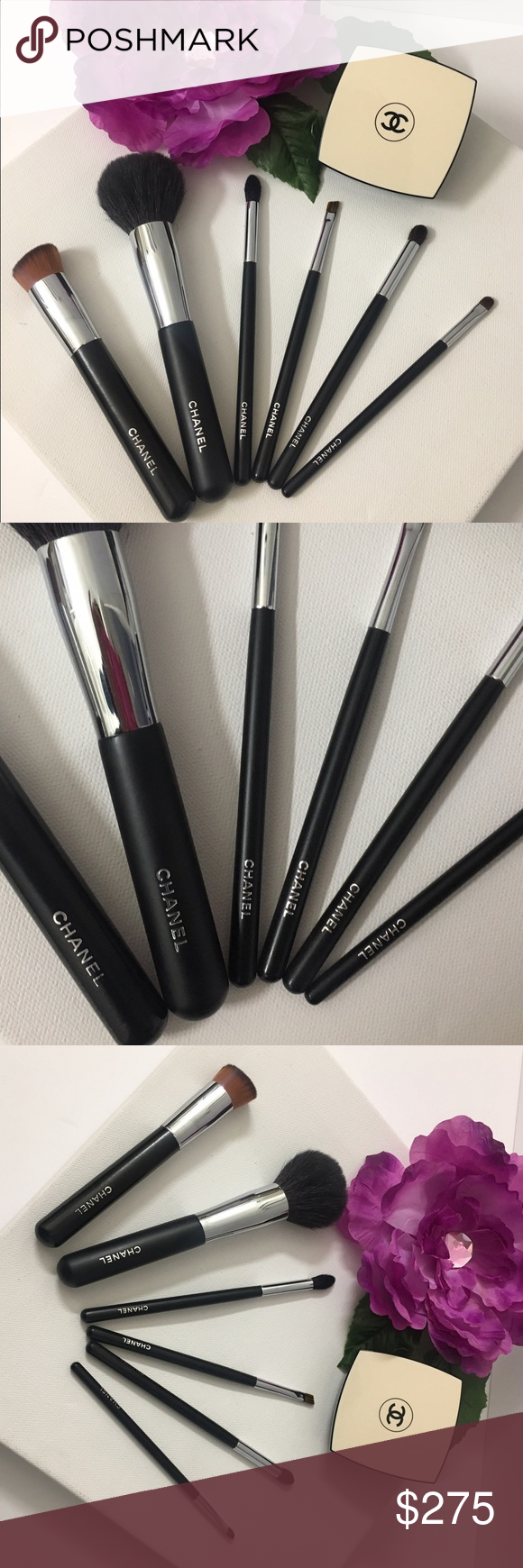 Authentic Chanel x5 brush from Set pro kit Boutique