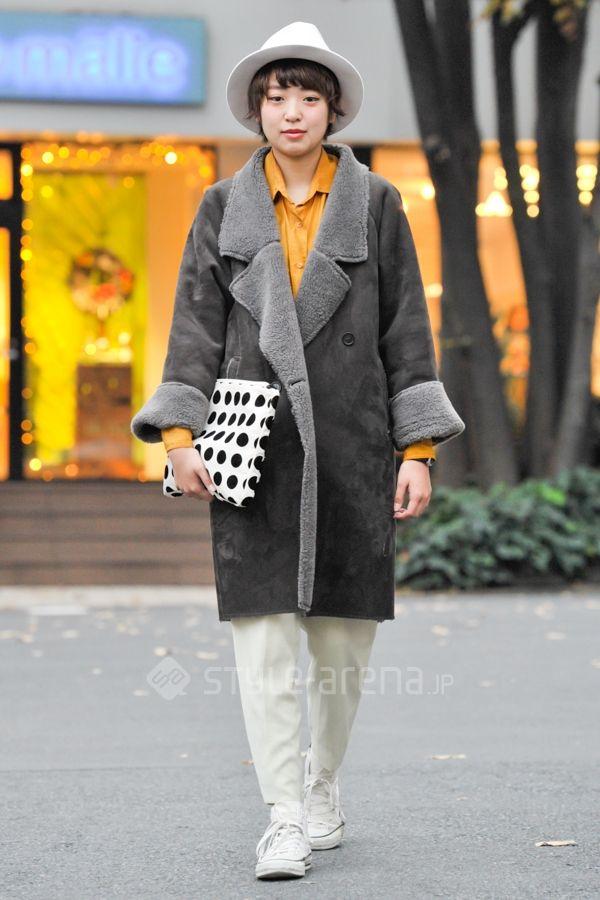 アオイさん | KBF used CA4LA CONVERSE I am I  | 2016年1月第1週 | 代官山 | 東京ストリートスタイル | 東京のストリートファッション最新情報 | スタイルアリーナ