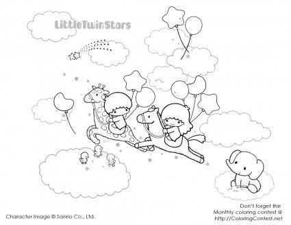 Little Twin Stars | ☌ Pin © Copy ℗ Print | Pinterest