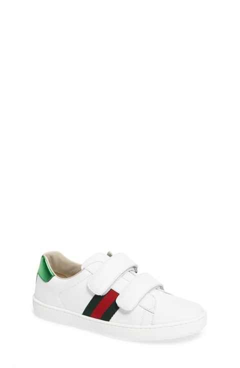 4b417338912 Gucci New Ace Sneaker (Little Kid   Big Kid)