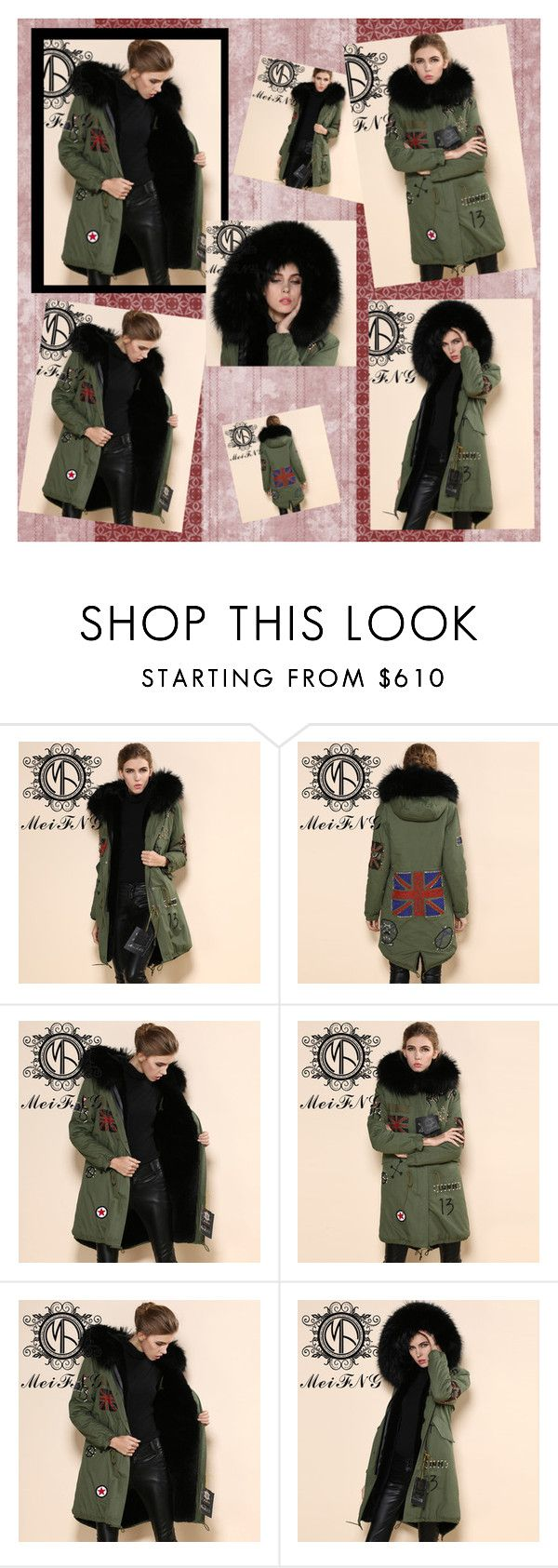 """""""Korean movie star gianna jun same style natural knitted mink fur coat"""" by dressfurs on Polyvore"""