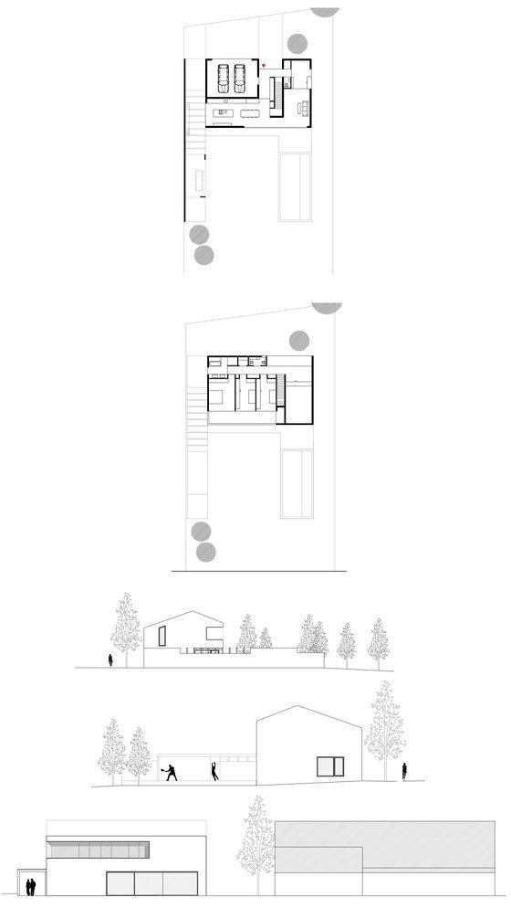 Residential House Kirchberg | Pinterest | Semi detached, Detached ...
