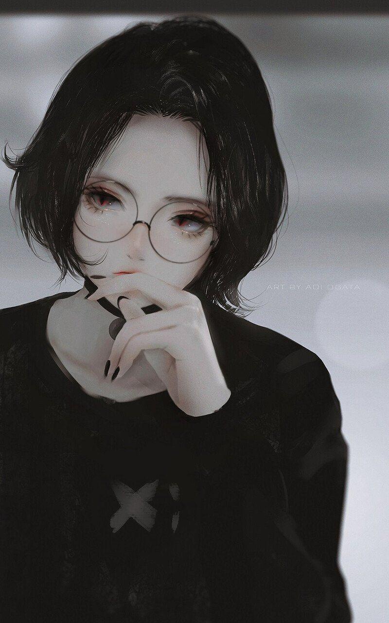 Artstation Doomer Girl Aoi Ogata Em 2020 Anime Gotico Anime