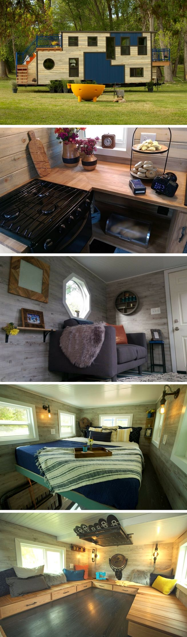 The Tiny Ski House, featured on Tiny House Nation