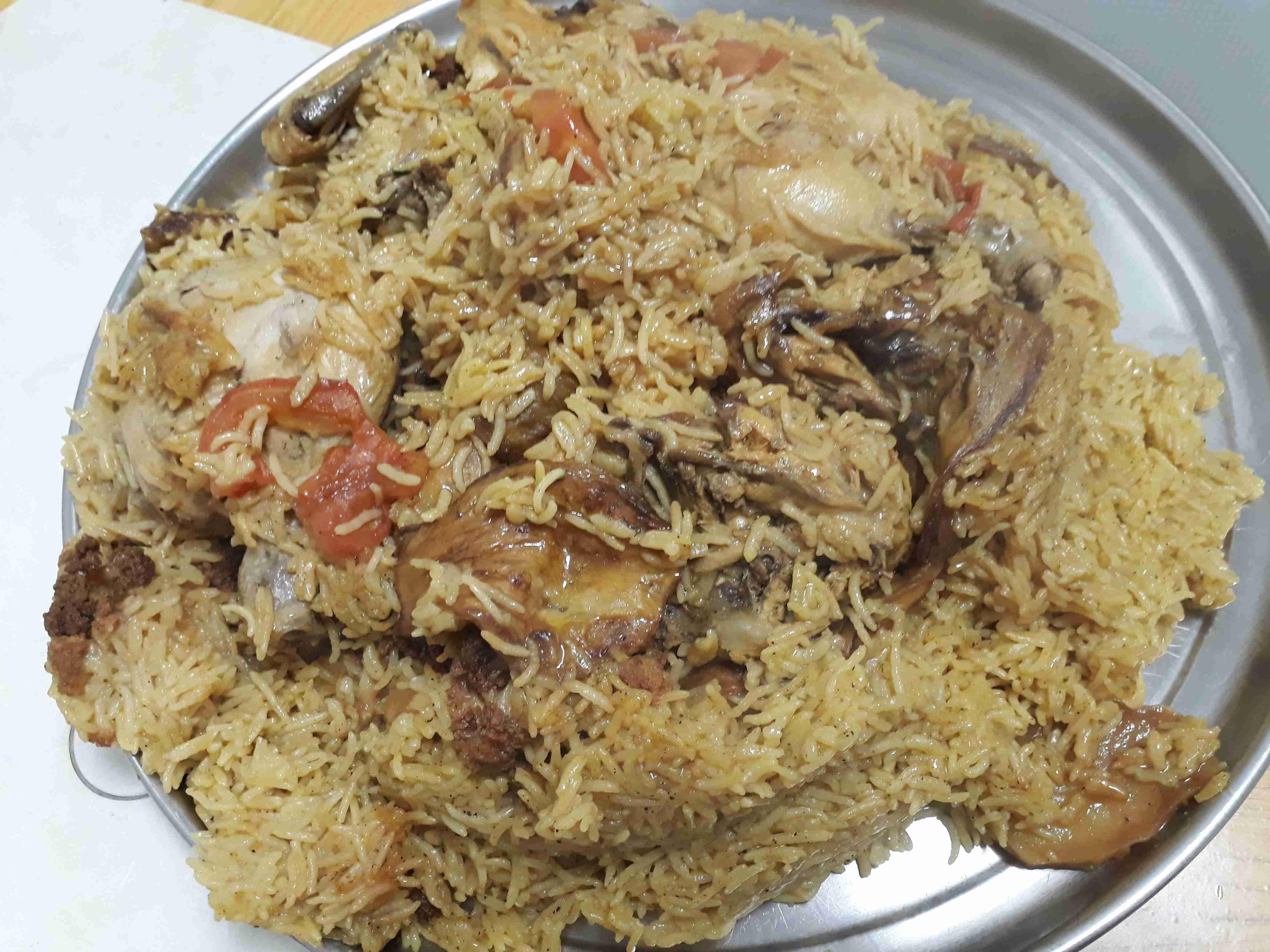 طريقة عمل المقلوبة زاكي Food Arabic Food Food And Drink