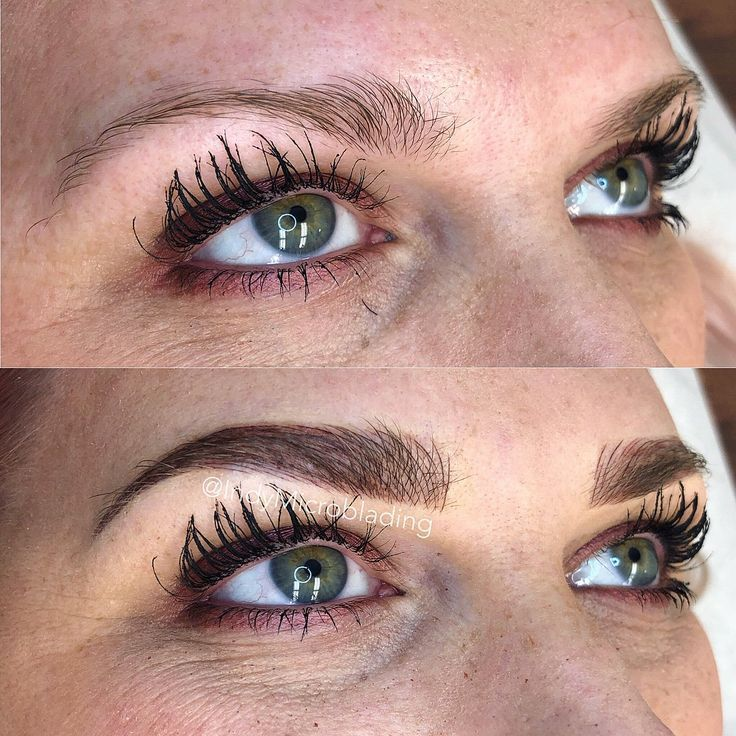 Microblading Before and After Microblading Before and