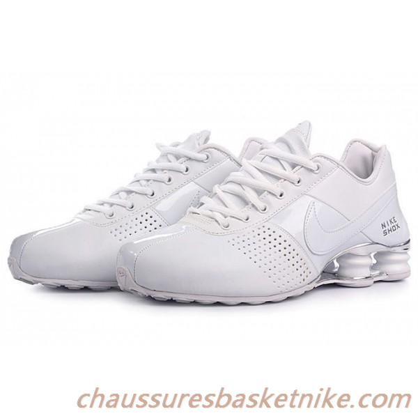 wholesale dealer c88eb 426dc Nike Shox OZ 809 Chaussures Tous Blanc