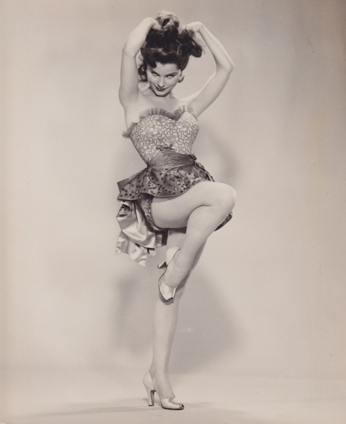 Debra Paget, 1953. - Paget had her first professional job at age 8,[1] and acquired some stage experience at 13 when she acted in a 1946 production of Shakespeare's The Merry Wives of Windsor. From 1950-56 she took part in six original radio plays for Family Theater. During those same years, she read parts in four episodes of Lux Radio Theater, sharing the microphone with such actors as Burt Lancaster, Tyrone Power, Cesar Romero, Ronald Colman, and Robert Stack.