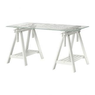 Se vende mesa ikea segunda mano serie glasholm finnvard for Mesa plegable ikea segunda mano