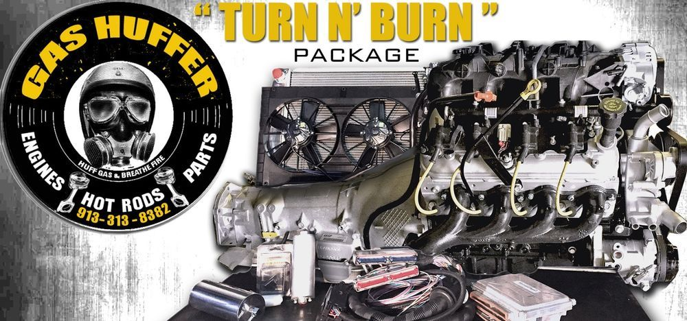 chevy c10 5 3 ho1 engine trans turn n burn swap kit 6 0 5 7 6 2 engine