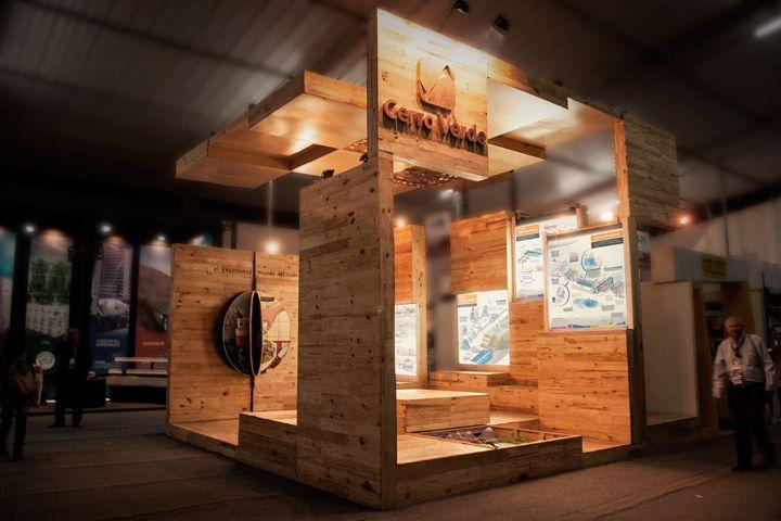 Exhibition Display Stands : Cerro verde stand by mid arquitectos la trastienda