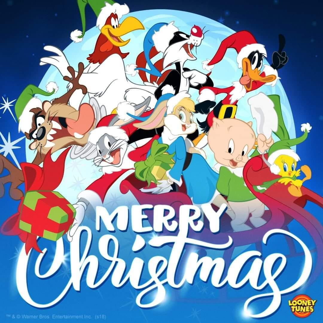 How many ways can you say Merry Christmas from the Looney