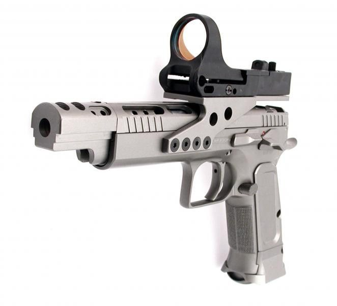 EAA Tanfoglio Witness Elite Gold Team This is the sweetest
