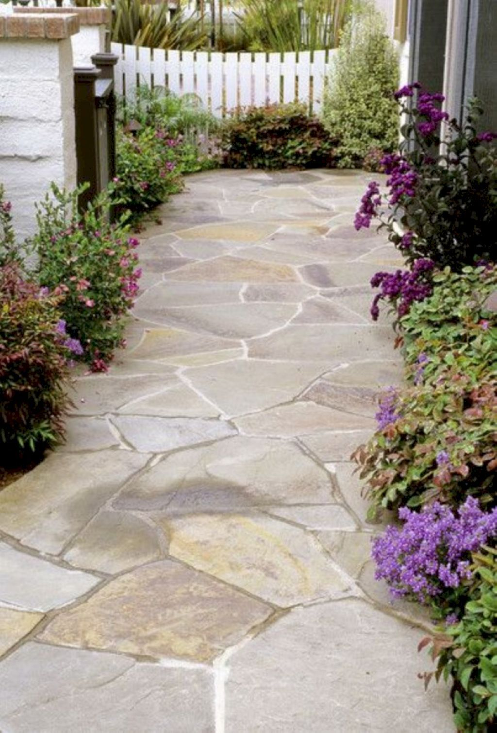 55 fabulous front yard walkway landscaping ideas front yards