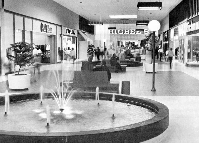 Midway Mall many years ago
