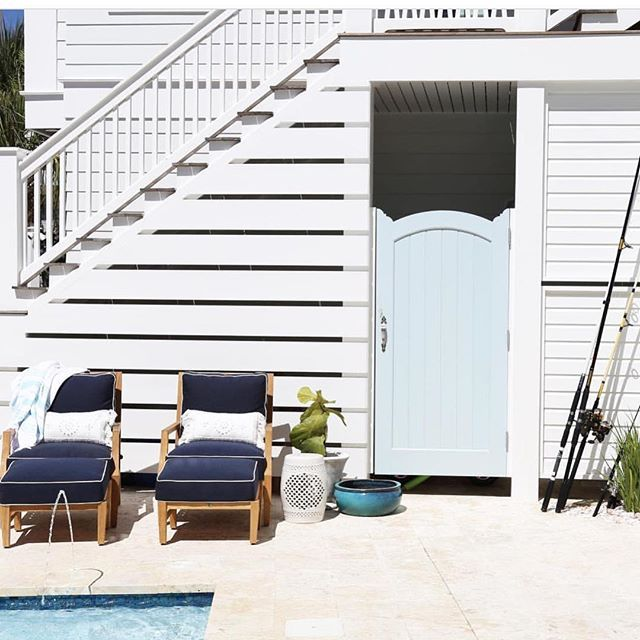 WEBSTA @ serenaandlily - We're ready to dive into summer. #regram via @oldseagrovehomes #serenaandlily #summerdreaming (Link in bio to shop our Montecito Outdoor Pillow Covers)