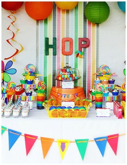 Blog My Little Party Ideas E Inspiracion Para Fiestas Fiestas Infantiles Fiesta De Arcoiris Fiesta Arcoiris