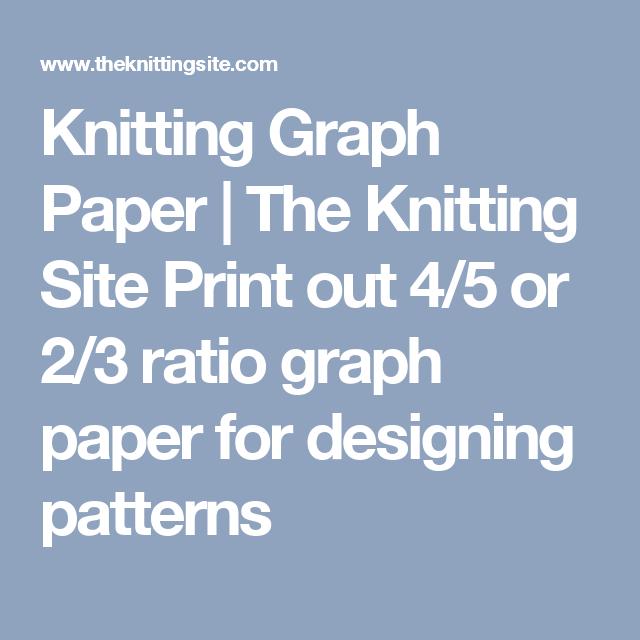 knitting graph paper - Roho.4senses.co