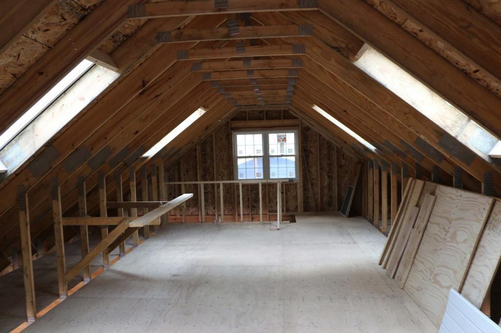 Secret Outdoor Woodworking Popular Mechanics Woodworkingshop Fallwoodprojects Attic Renovation Attic Rooms Attic Truss
