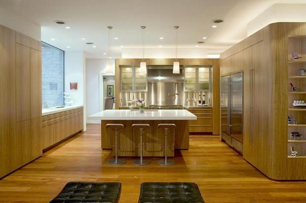 Eucalyptus veneer looks gorgeous | Stylish kitchen, Wooden ...