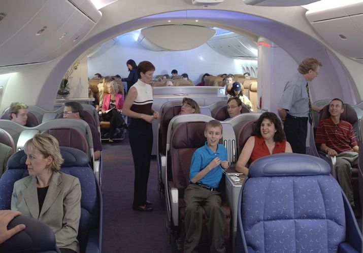 Boeing 787 Dreamliner Interior View | Military and Commercial ...