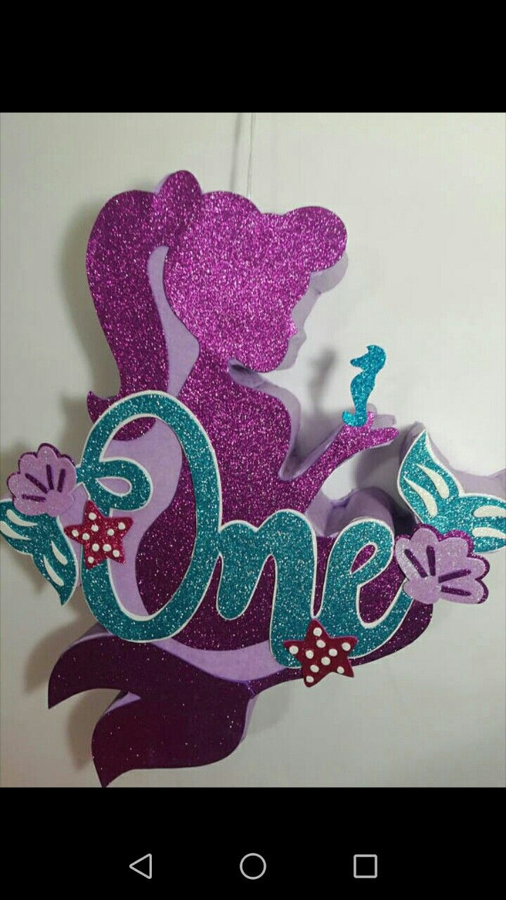 Mermaid pinata, mermaid birthday party. Mermaid ideas, mermaid ...