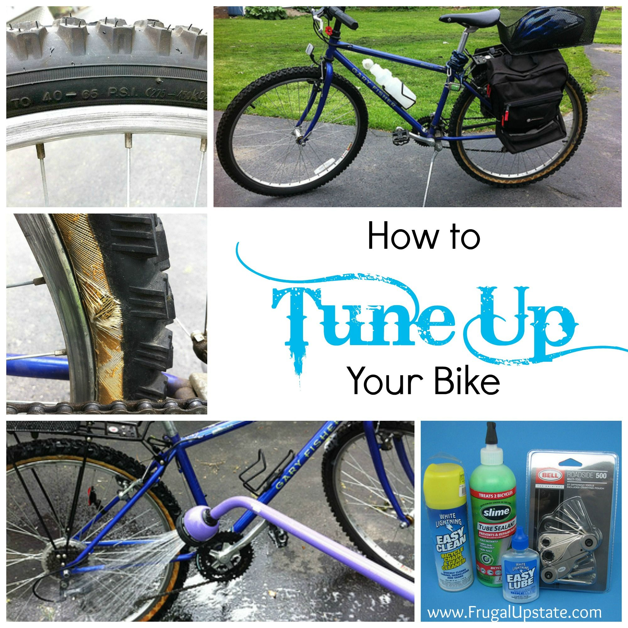 How To Tune Up Your Bike For Spring Frugal Upstate Bike Repair Bike Accessories Diy Bicycle Maintenance