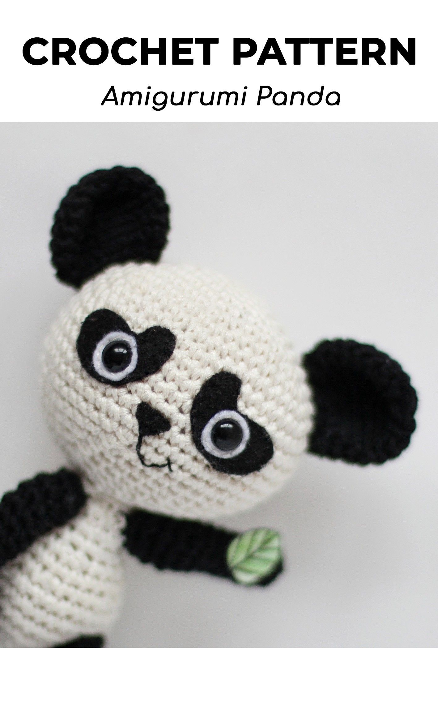 Tutorial Piccolo PANDA amigurumi all'uncinetto - crochet amigurumi ... | 2268x1417