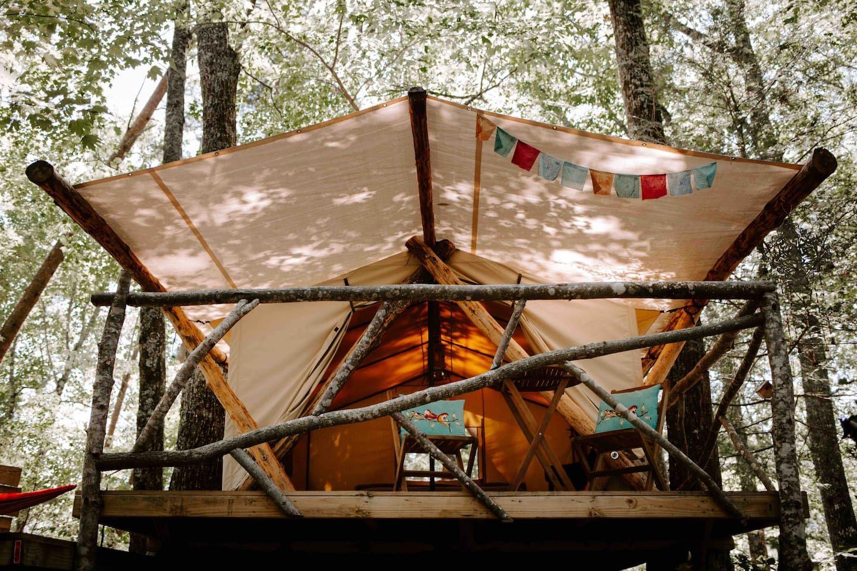 Canopy Ridge Safari Tent 3 Tents for Rent in Pigeon
