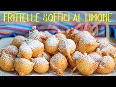 Photo of FRITTELLE SOFFICI AL LIMONE Ricetta Facile. Le Frittelle al Cucch
