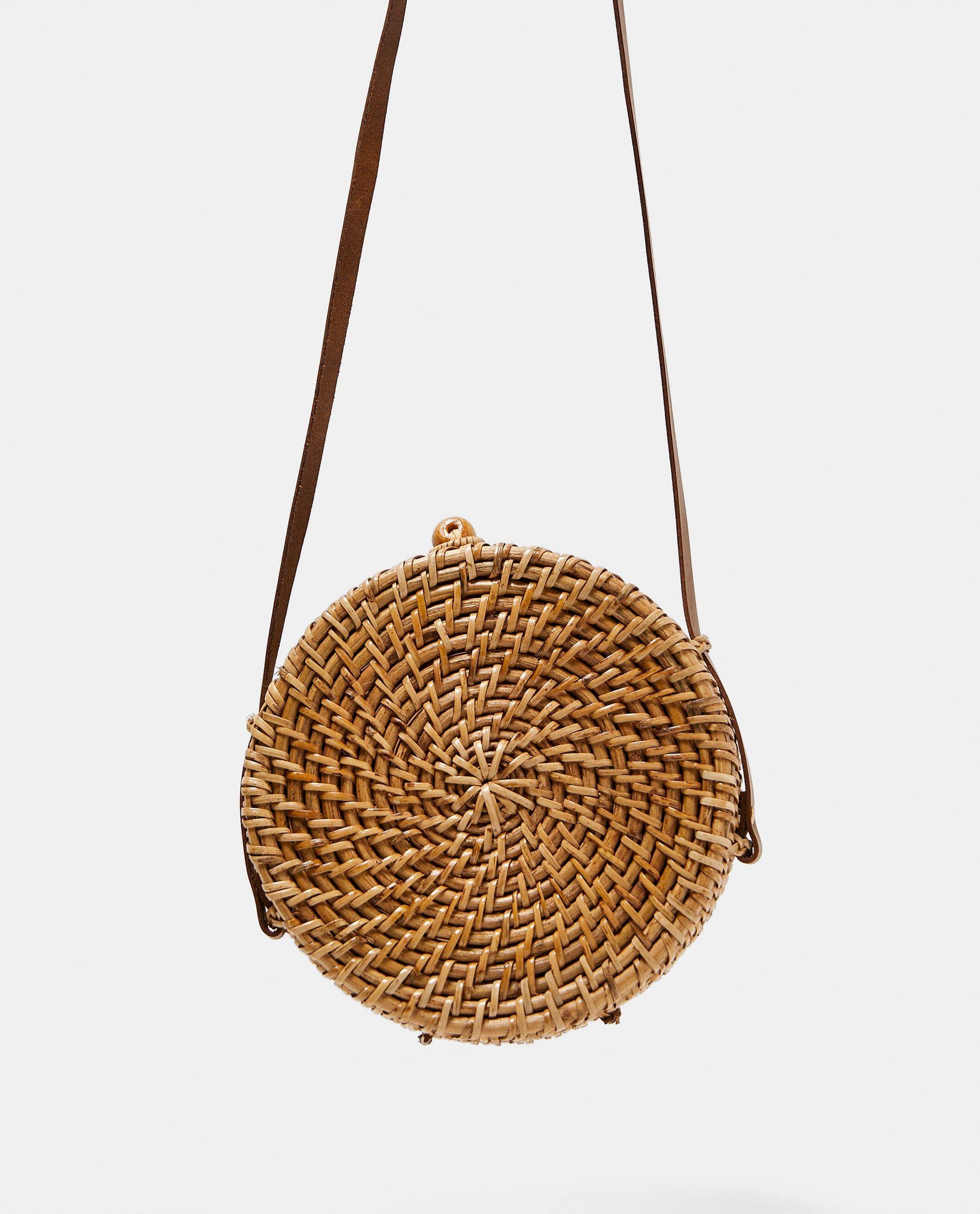 Zara Woman Round Rigid Handbag