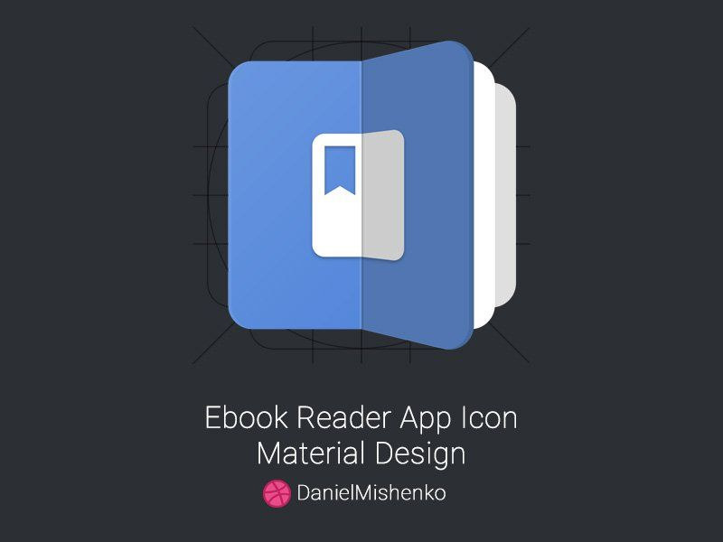 Ebook Reader App Icon